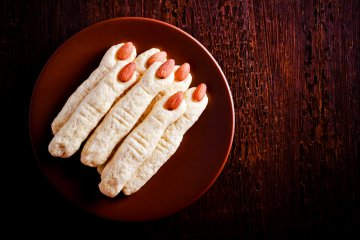 I finger food per Halloween